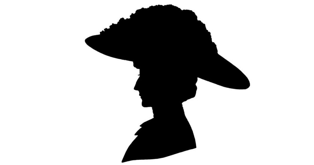 Womans Face Silhouettes