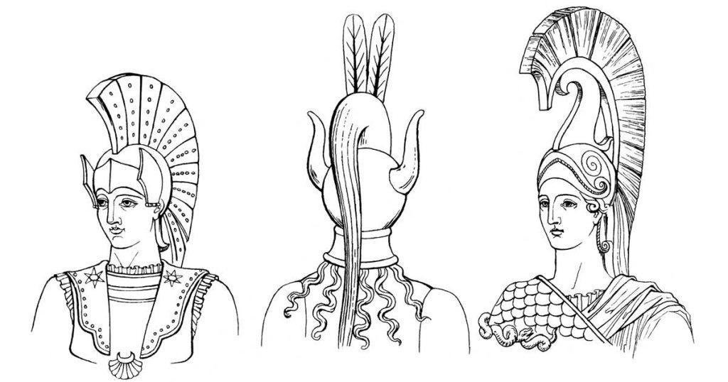 Ancient Greek Helmets