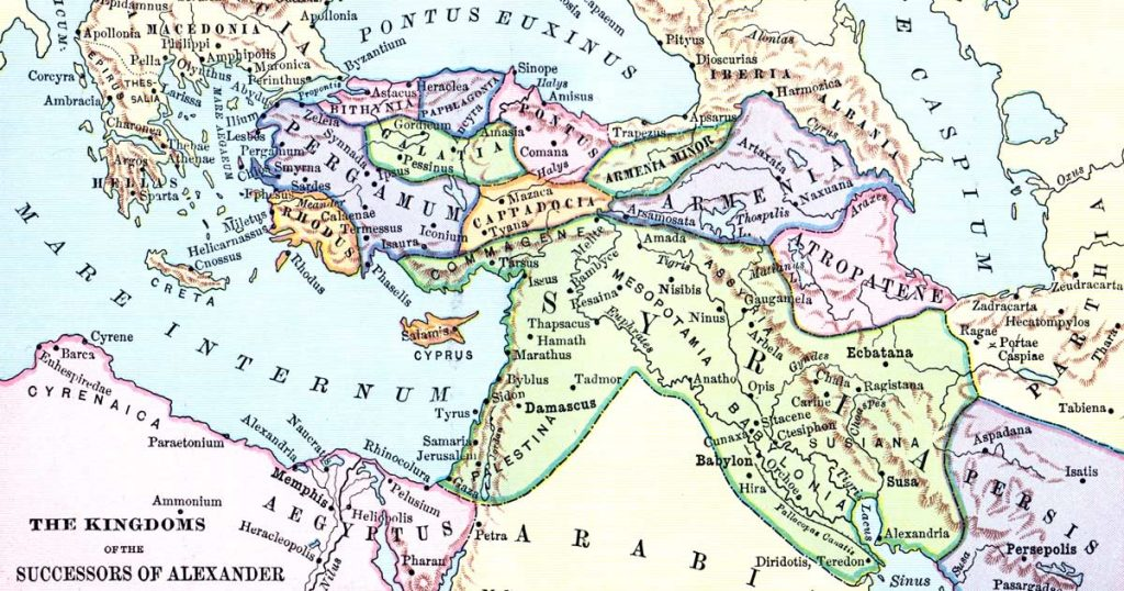 Maps of Ancient Greece