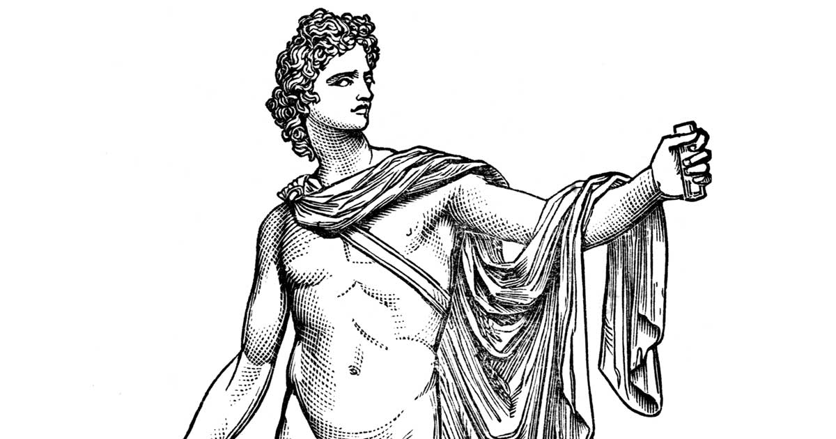 Greece Apollo Coloring Page - Free Greece Coloring Pages ...   630x1200