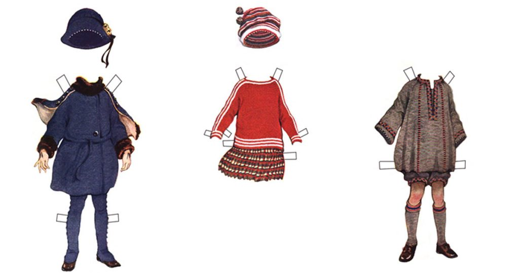 Paper Dolls With Clothes
