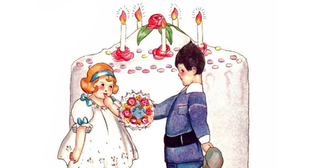 Drawings Of Birthday Cakes