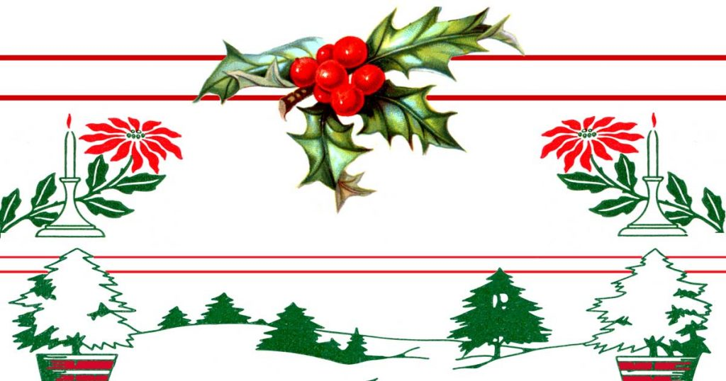 Images Of Christmas Borders
