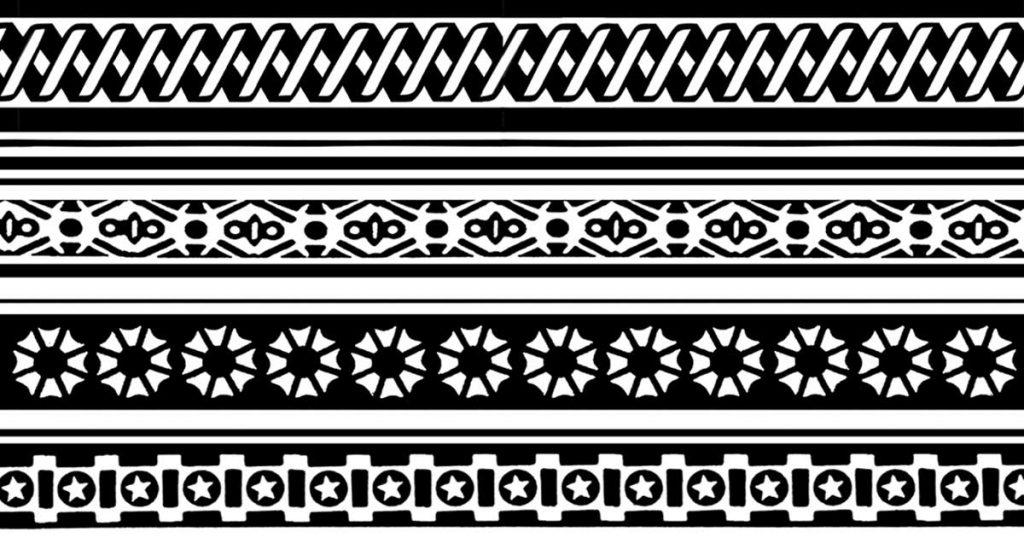 Black And White Border Clip Art