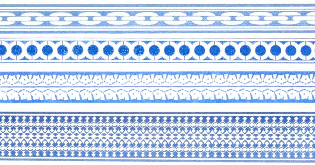 Blue Borders
