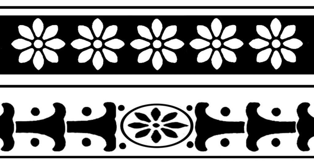 Border Clip Art Flowers
