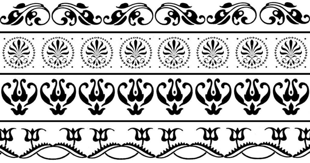 Flower Borders Clip Art