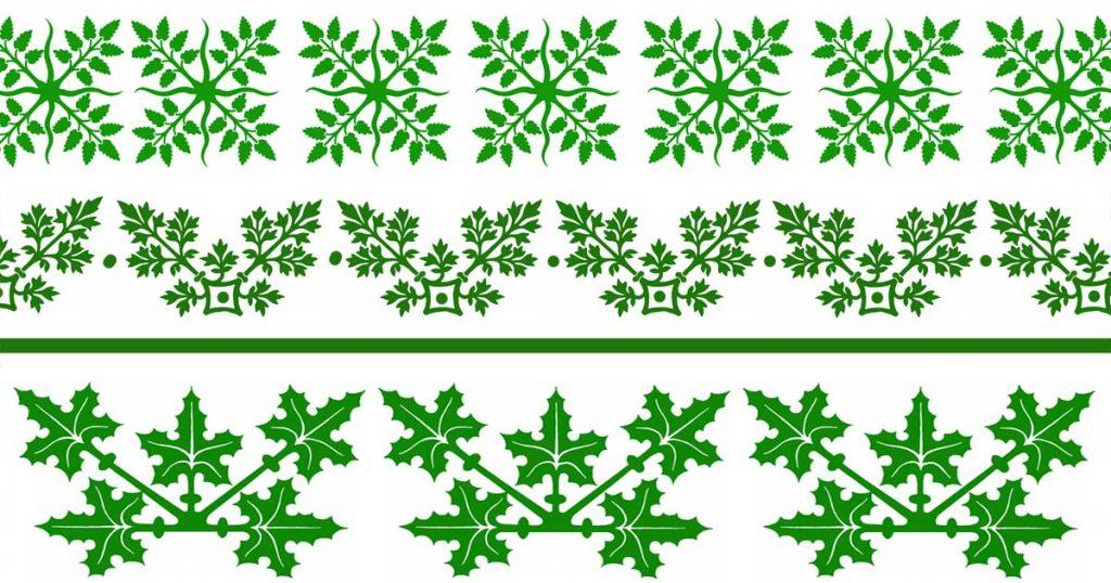 Leaf Borders