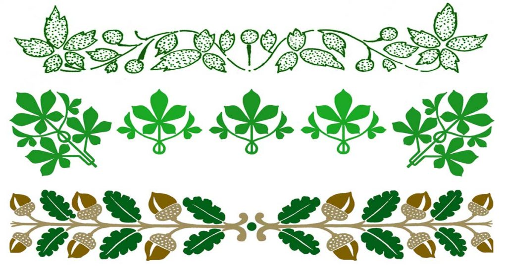 Leaf Borders Clip Art