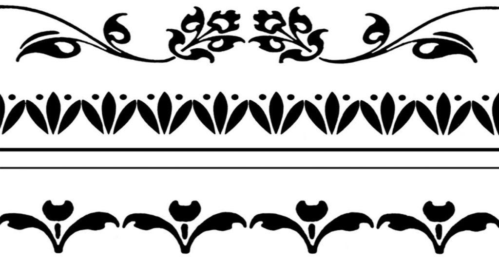 Simple Border Designs