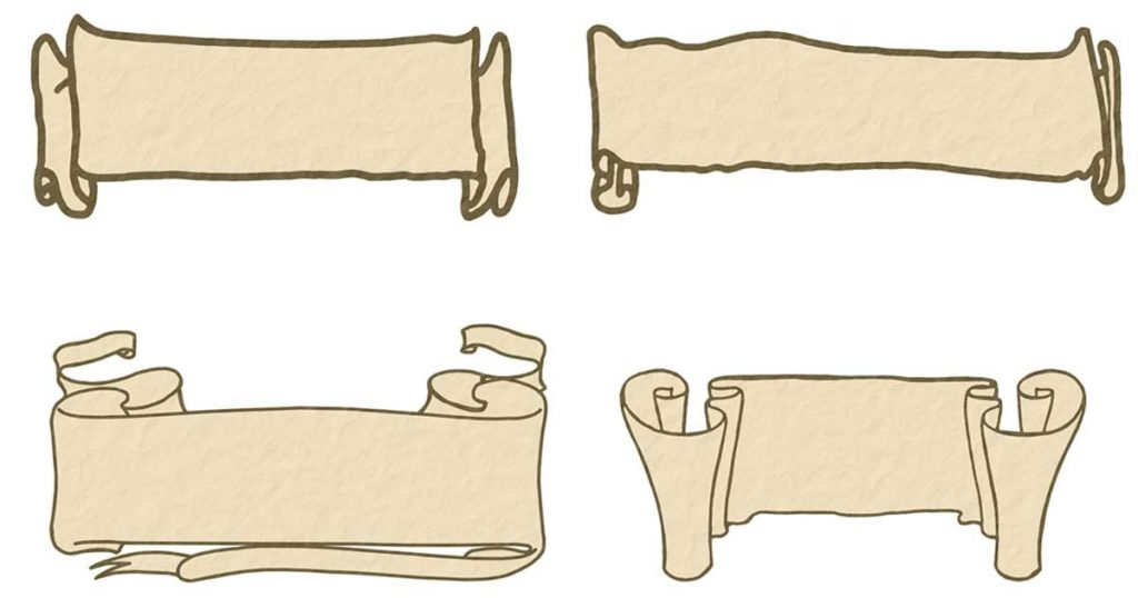 Clipart Of Scrolls