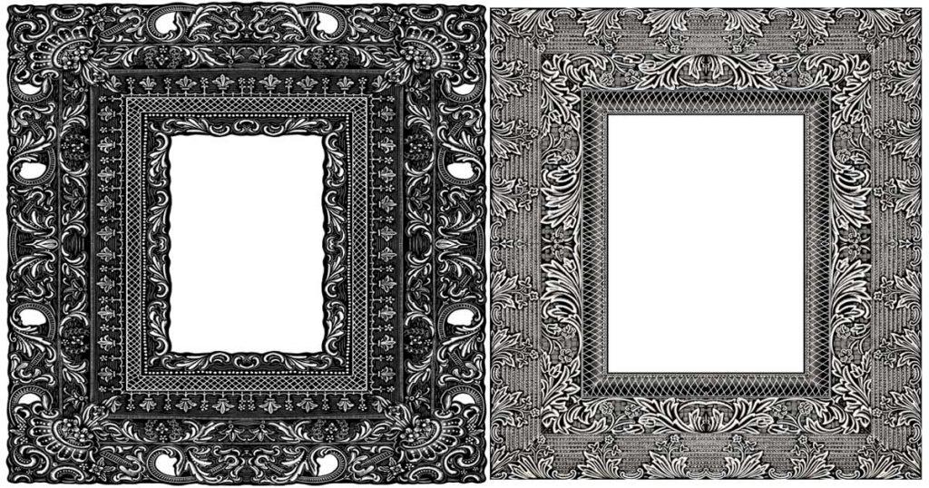 Picture Frames Clip Art