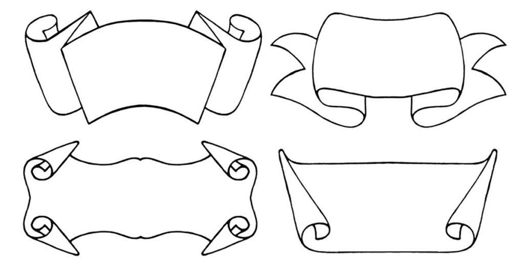 Scrolls Clip Art