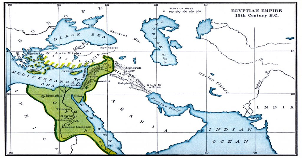 Ancient Egyptian Maps