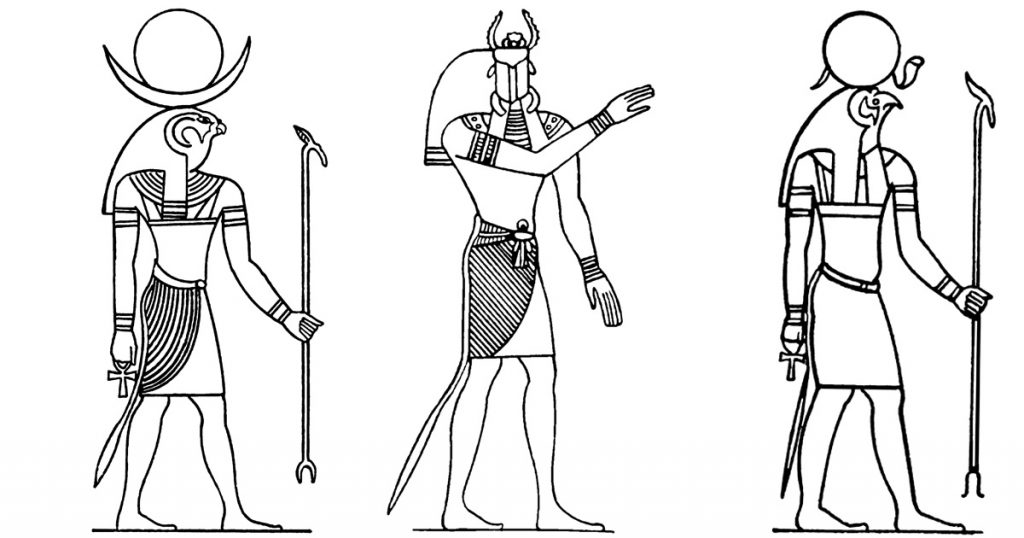 Gods And Goddesses From Ancient Egypt